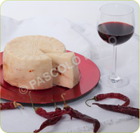 Fresh Sheep's Cheese with Red Pepper