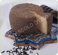 Semi-hard Sheep's Cheese with Black Pepper